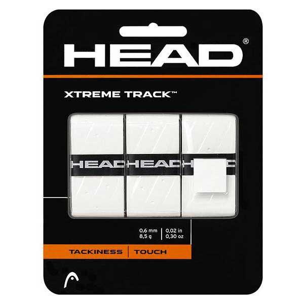 Head Racket Surgrip Tennis/padel Xtreme Track 3 Unités One Size White