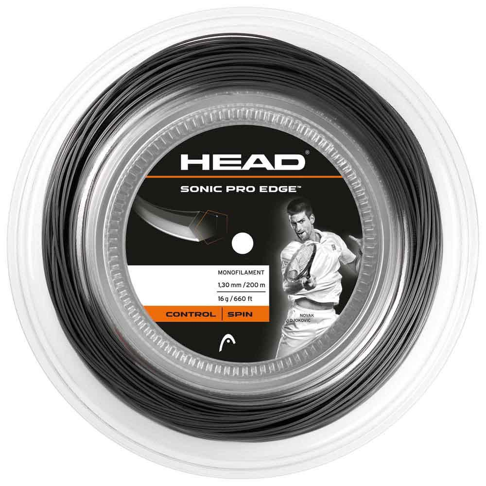 Head Racket Sonic Pro Edge 200 M 1.30 mm Anthracite