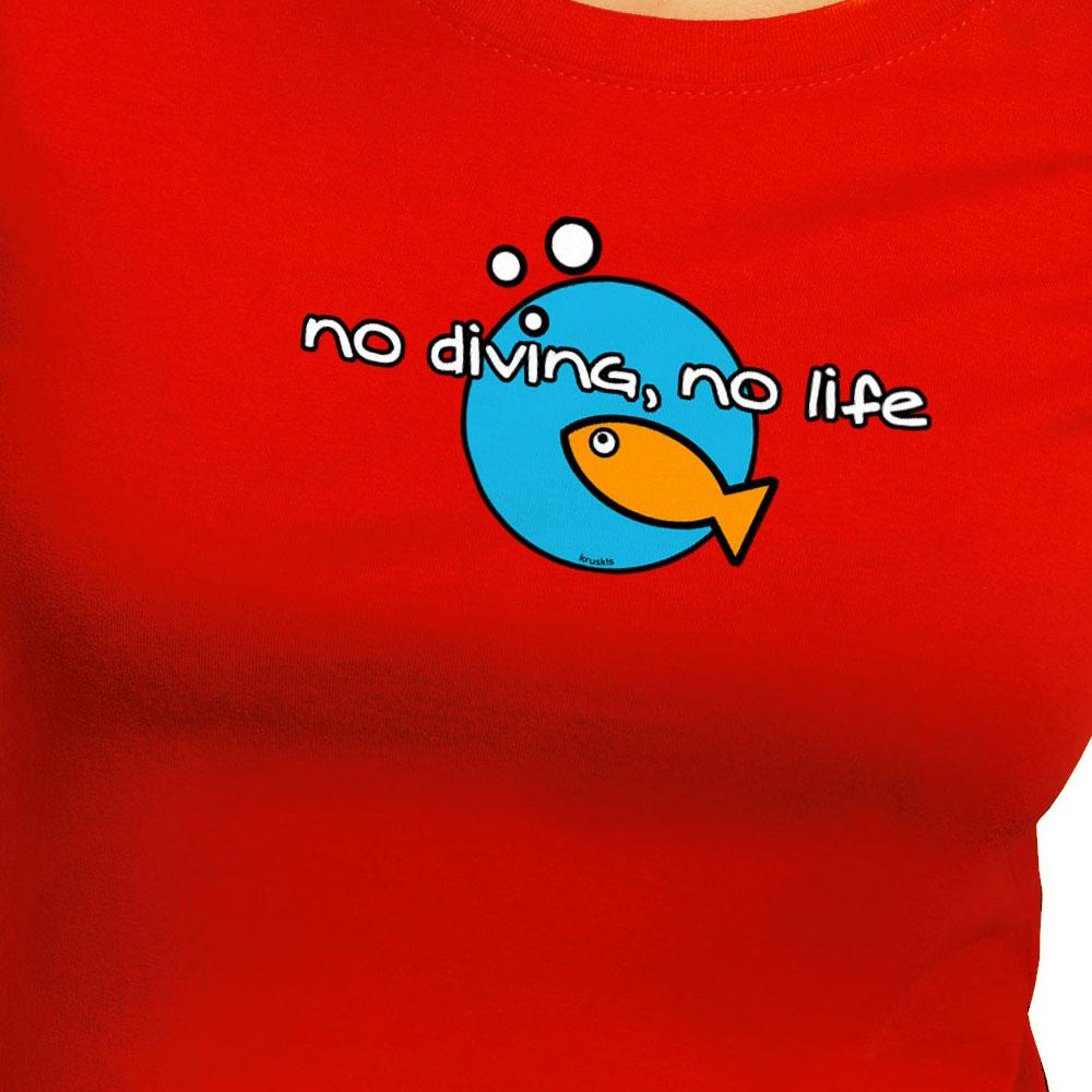 kruskis-no-diving-no-life-xs-red