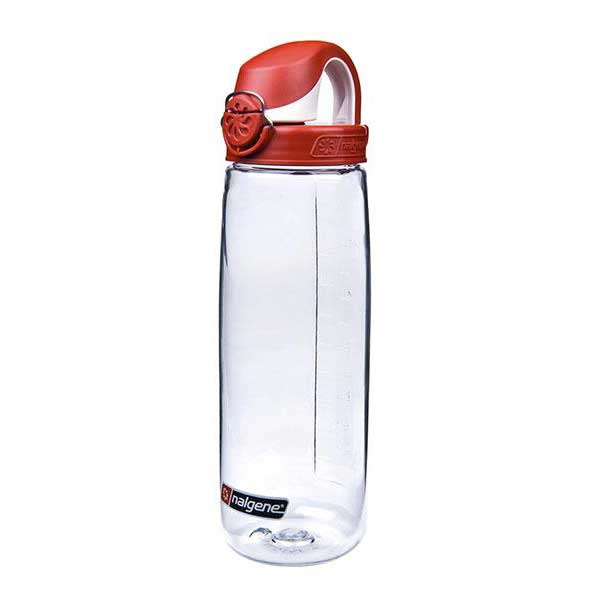 Nalgene Otf Bottle 700ml One Size Transparent / Loop-Top Red