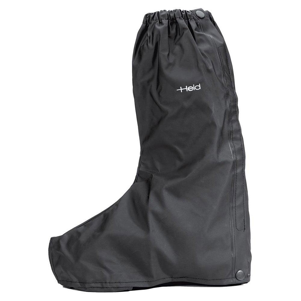 Held Over Boot Waterproof Coated Sole S Black