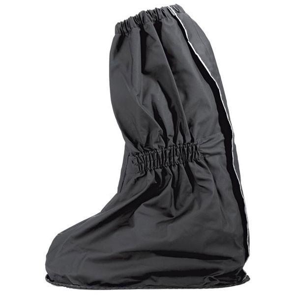 Held Over Boot Waterproof Welded Pvc Sole M Black
