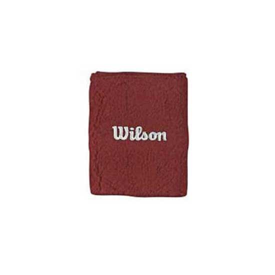 Wilson Wilson Double Wristband One Size Red