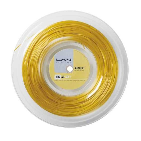 Luxilon 4g Soft 200 M 1.25 mm Gold