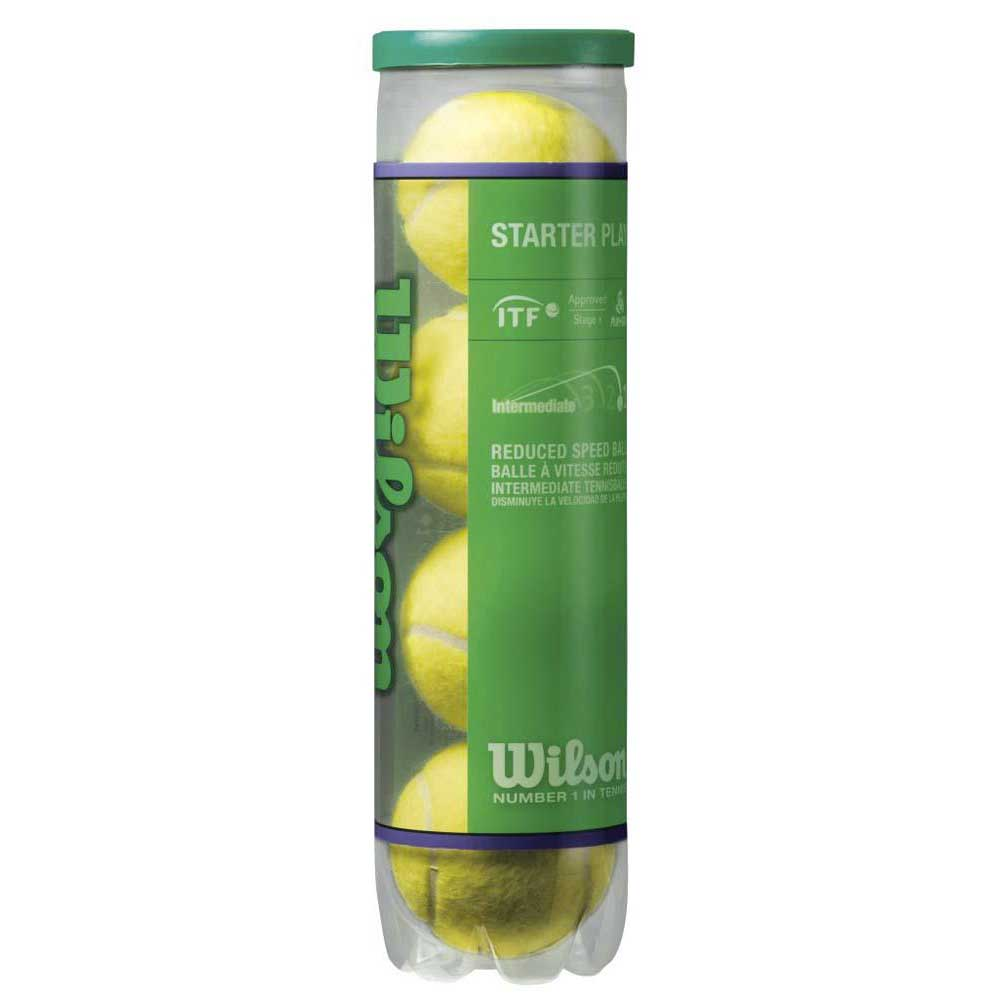 Wilson Starter Play 4 Balls Yellow / Green