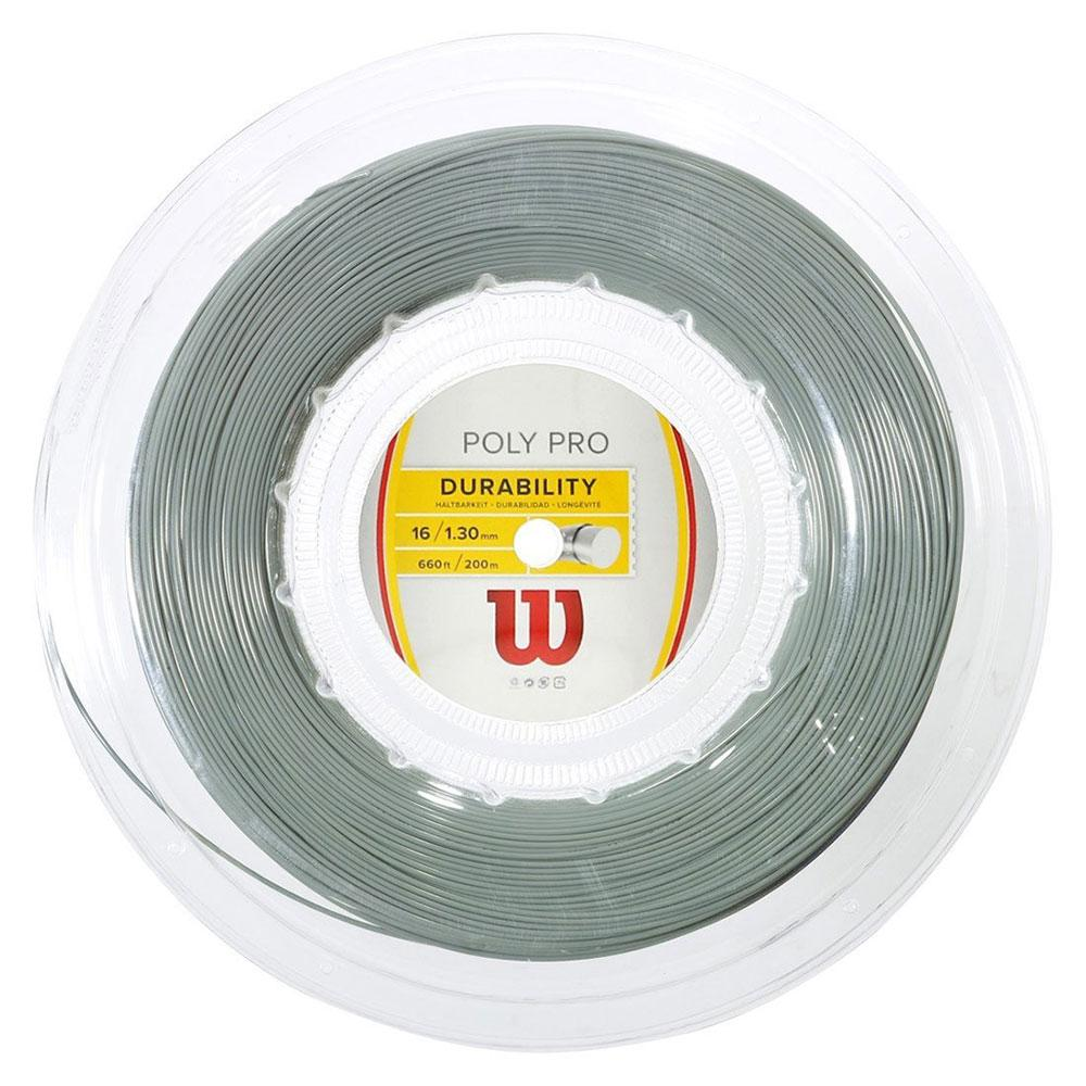 Wilson Poly Pro 200 M 1.30 mm Silver