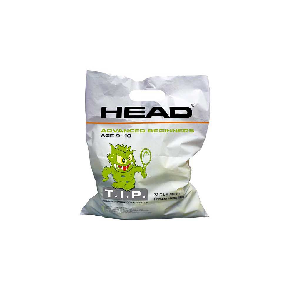 Head Racket Tip Polybag 72 Balls Green