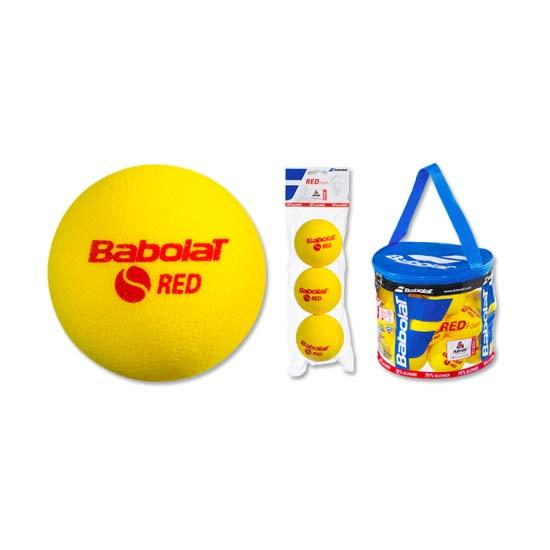 Babolat Red Foam 3 Balls Yellow / Red