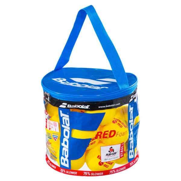 Babolat Red Foam Box 24 Balls Yellow / Red