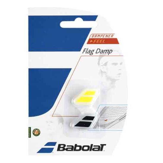 Babolat Flag Dampener 2 Units One Size Black / Yellow