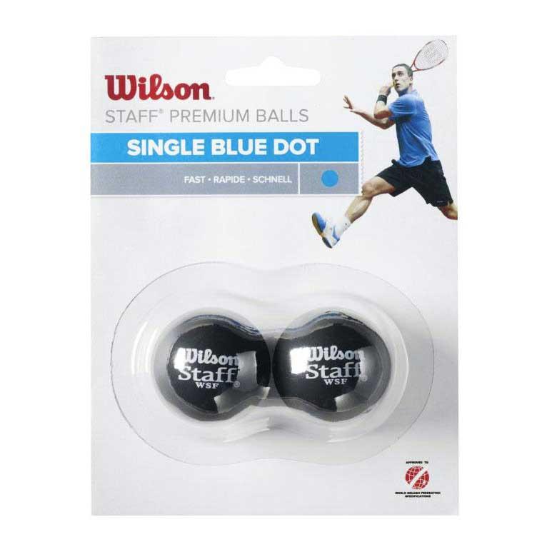 Wilson Staff Fast Single Blue Dot 2 Balls Black