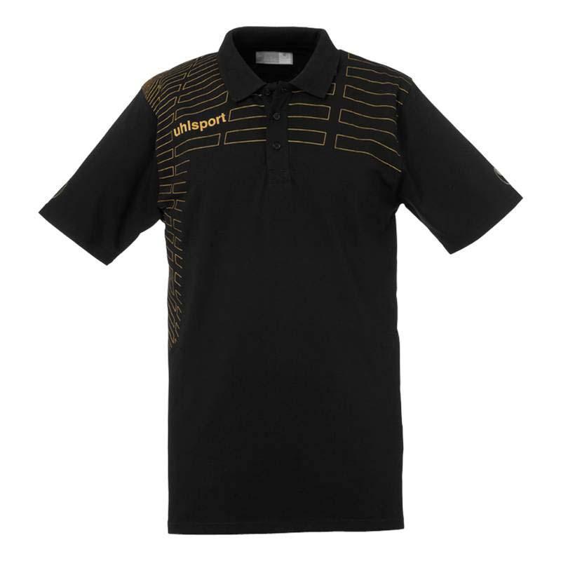 Uhlsport Match Polo Shirt XXXL Black / Gold
