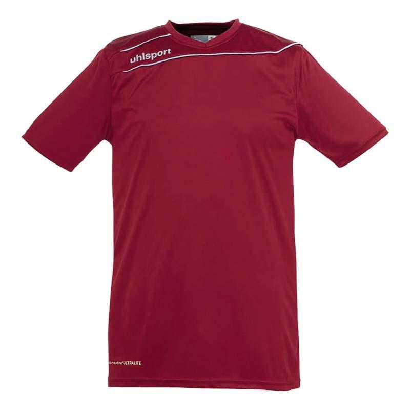 Uhlsport T-shirt Manche Courte Stream 3.0 XXXS Bordeaux / Skyblue