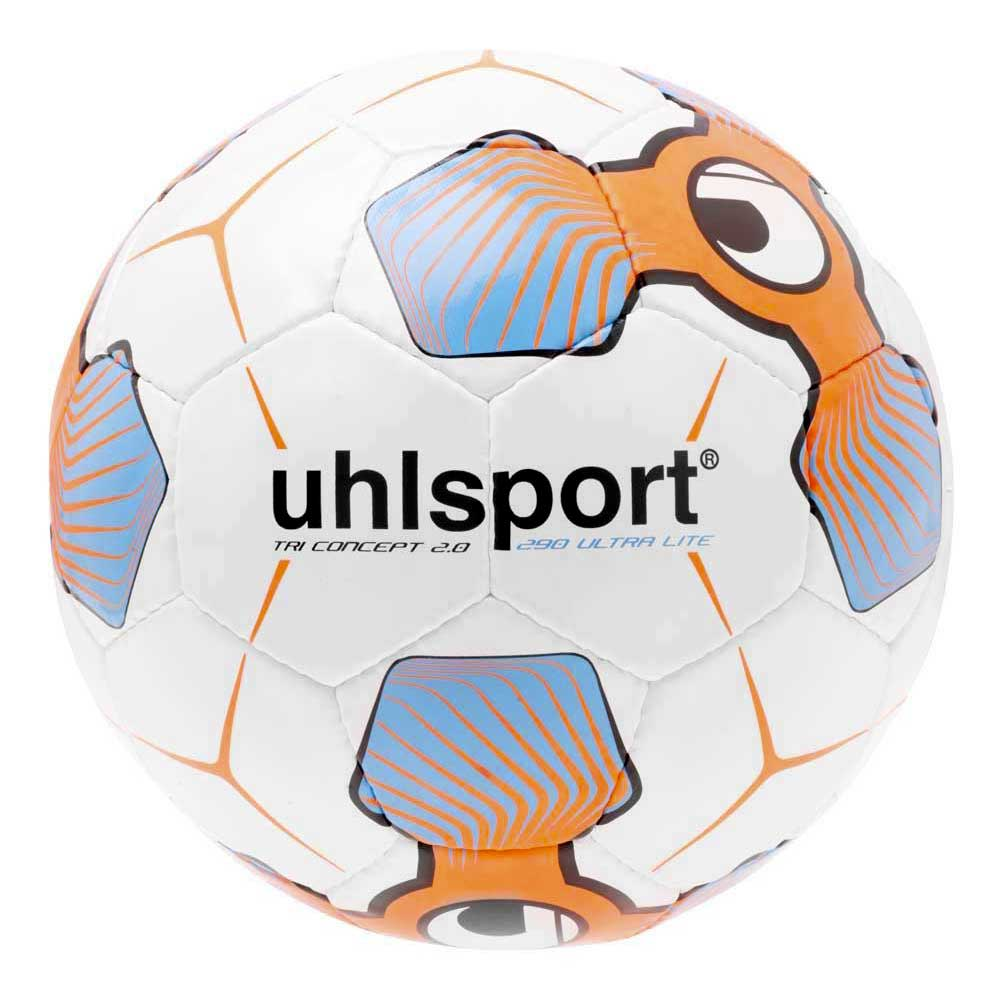 Uhlsport Tri Concept 2.0 290 Ultra Lite Football Ball 5 White / Fluo Red / Iceblue
