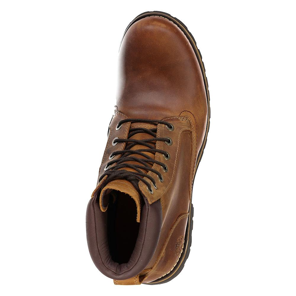 9a4e1446f36 Details about Timberland Rugged 6 In Plain Toe Boot Wp Brown T01019/ Boots  and Booties Male