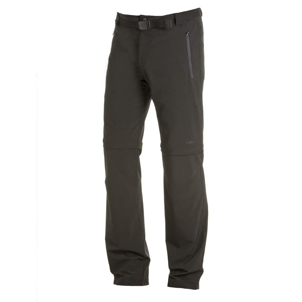 Cmp Zip Off Pants XL Anthracite