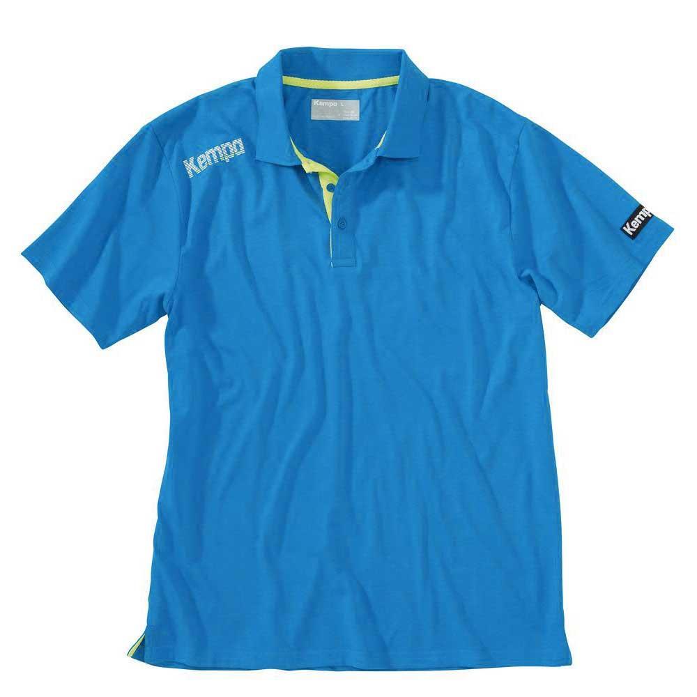 Kempa Polo Manche Courte Core XS Blue