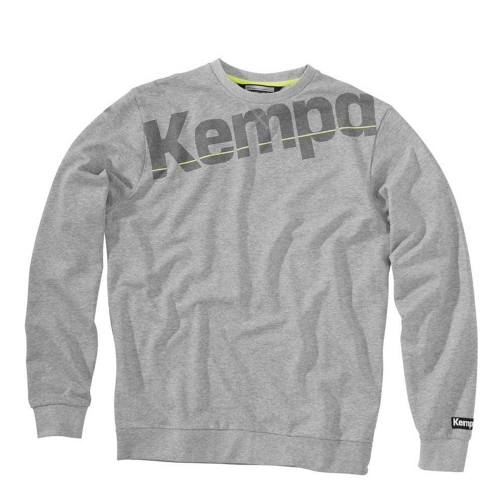 Kempa Sweatshirt Core Melange XXS Grey