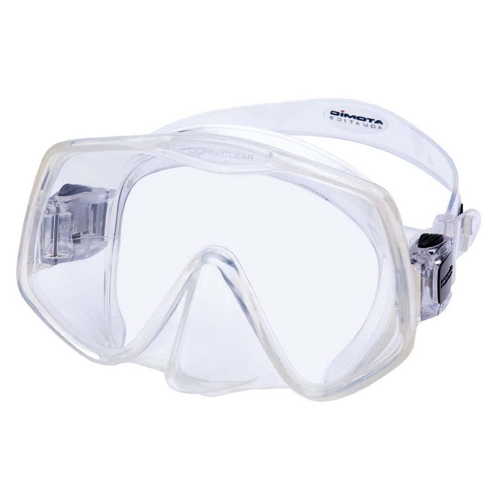 Atomic Aquatics Rahmenlos 2 Tauchermaske Black Transparent Tauchmasken Rahmenlos 2 Tauchermaske
