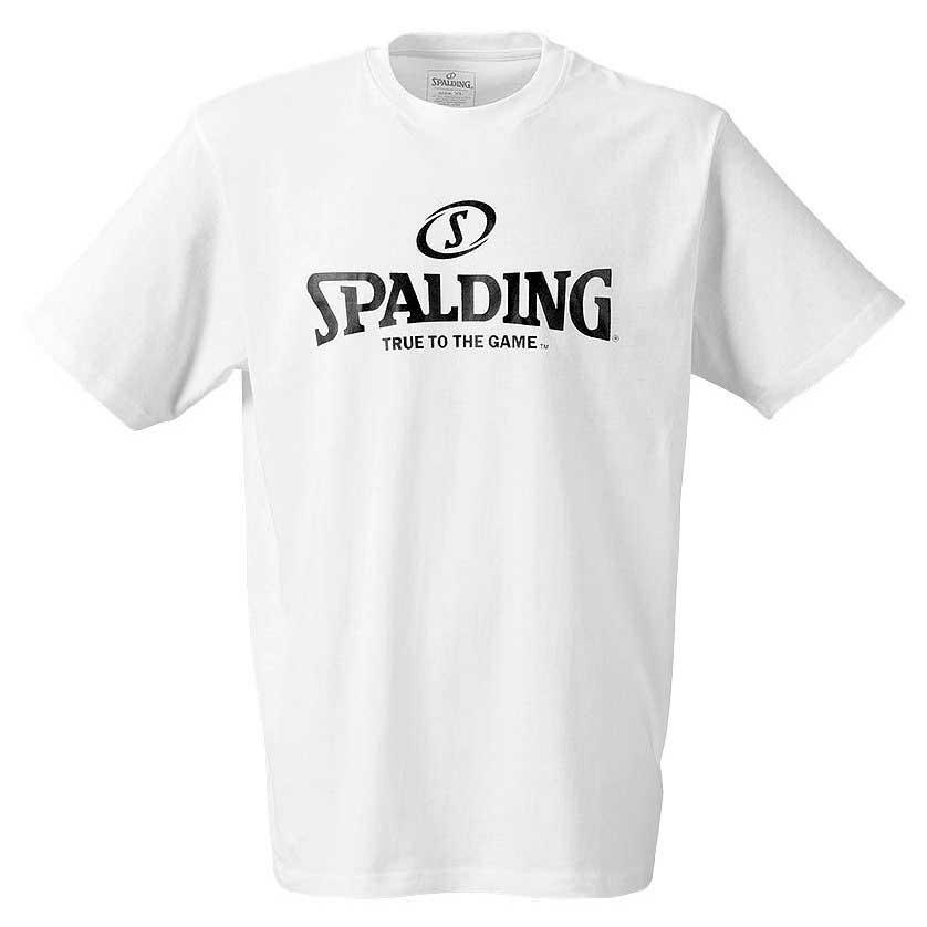 Spalding Logo XL White