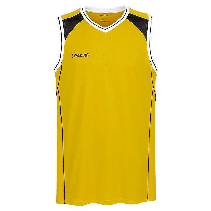 Spalding Crossover Top XXS Yellow / Black