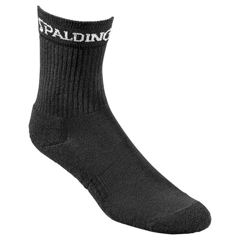 Spalding Mid Cut 3 Pairs EU 36-40 Black