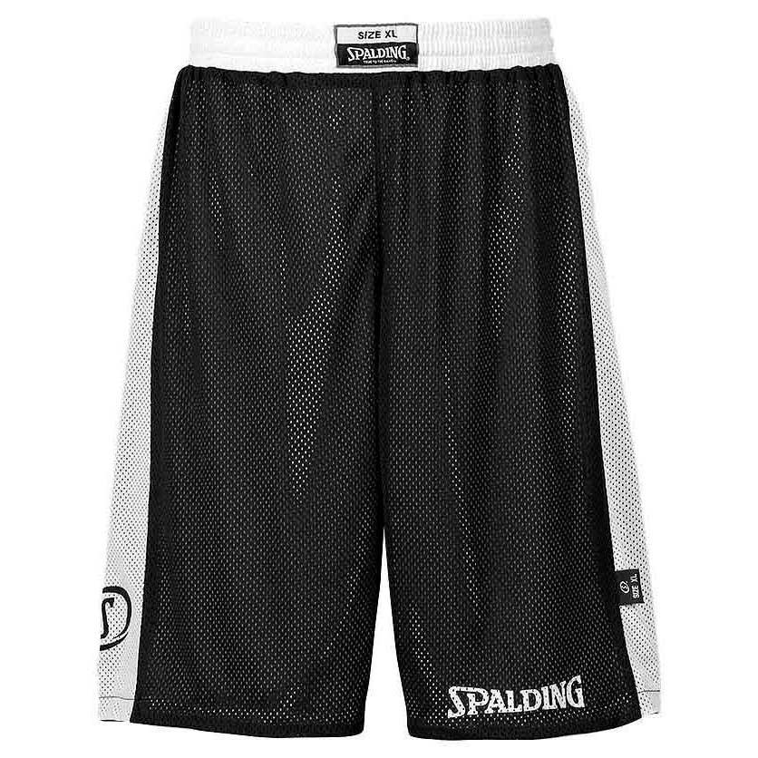 Spalding Essential Reversible Shorts XXS Black / White