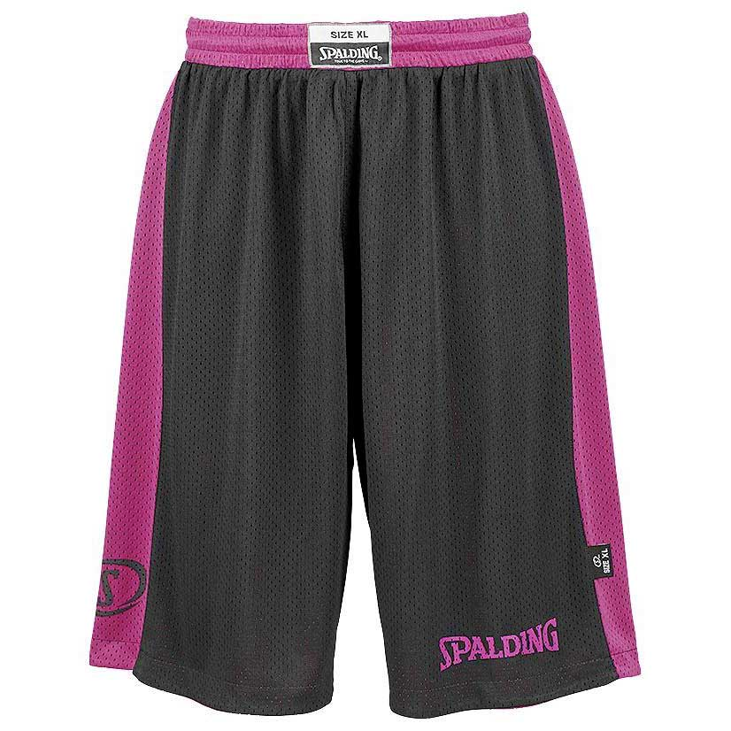Spalding Essential Reversible Shorts XS-S Black / Pink