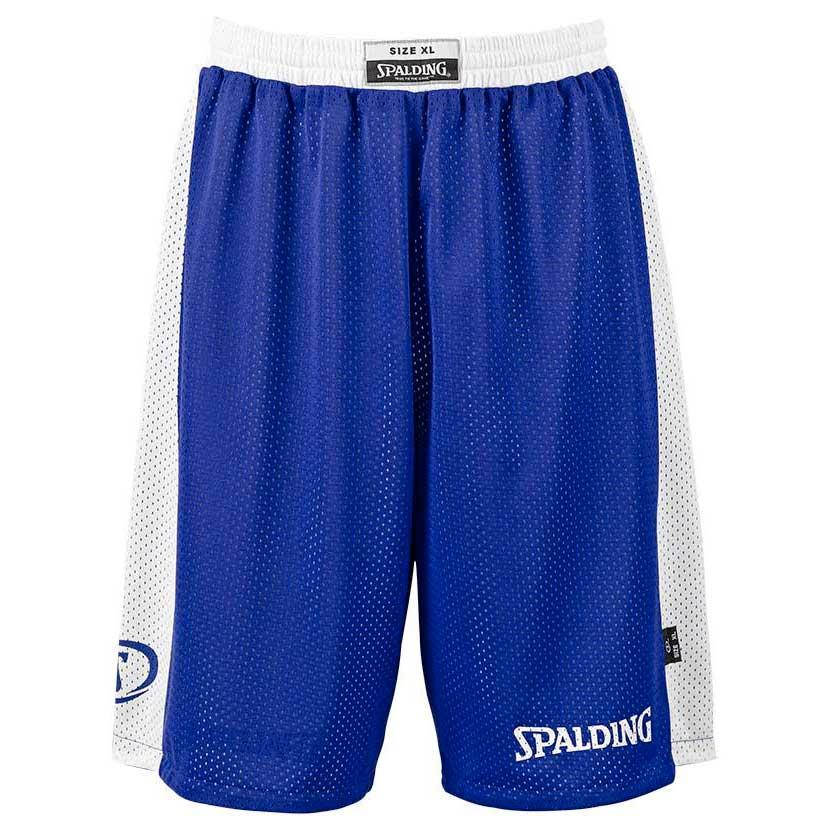 Spalding Essential Reversible Shorts XXS Royal / White