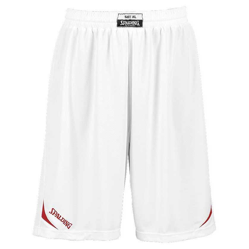 Spalding Attack Shorts XXS White / Red