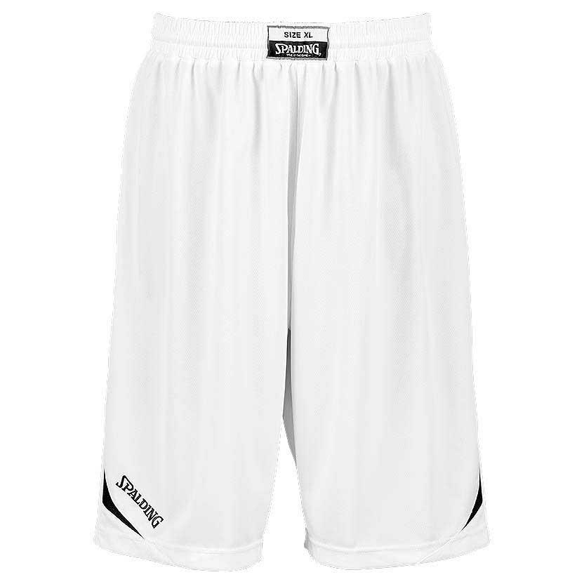 Spalding Attack Shorts XXXS White / Black