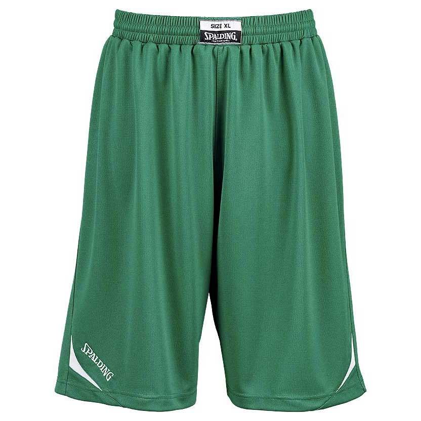 Spalding Attack Shorts XXXS Green / White