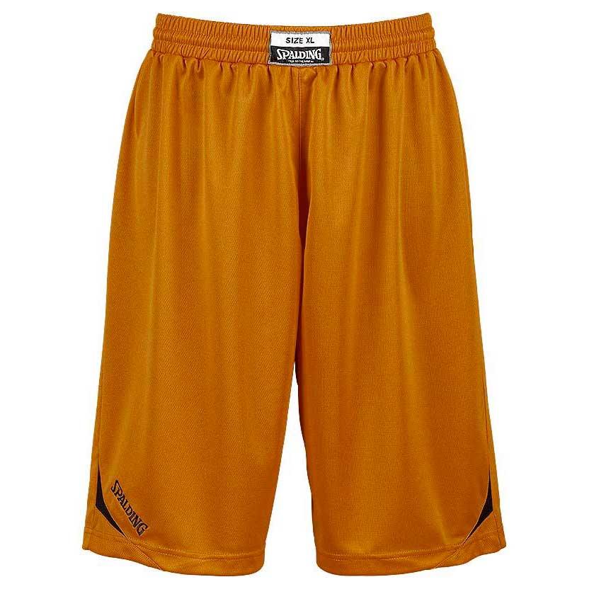 Spalding Attack Shorts XXXS Orange / Black