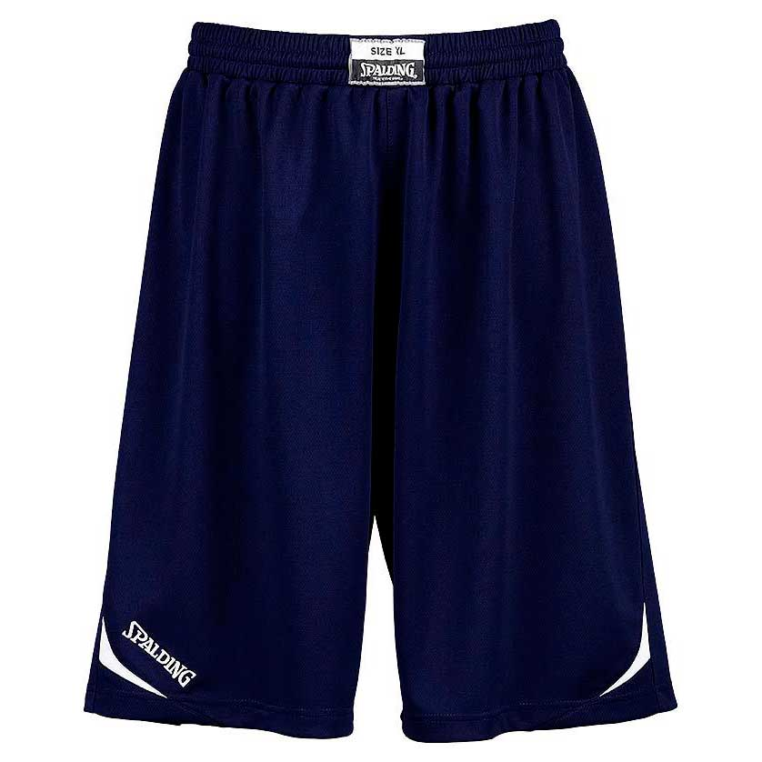 Spalding Attack Shorts XXXS Navy / White