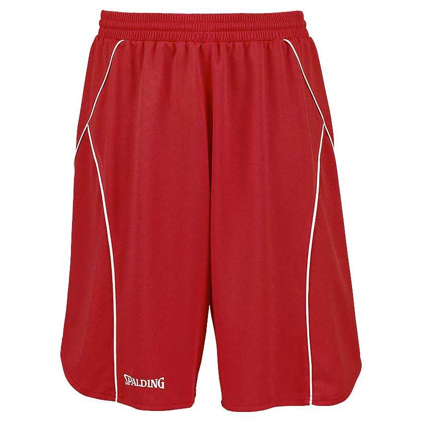 Spalding Crossover Shorts XXS Red / White