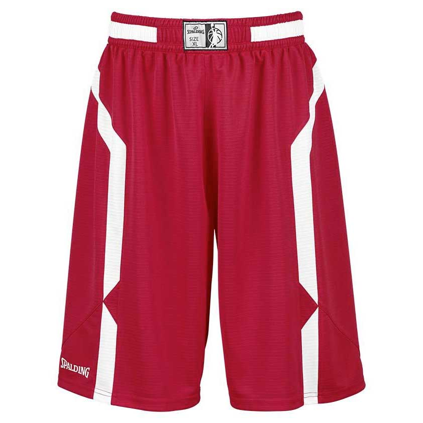 Spalding Offense Shorts S Red / White