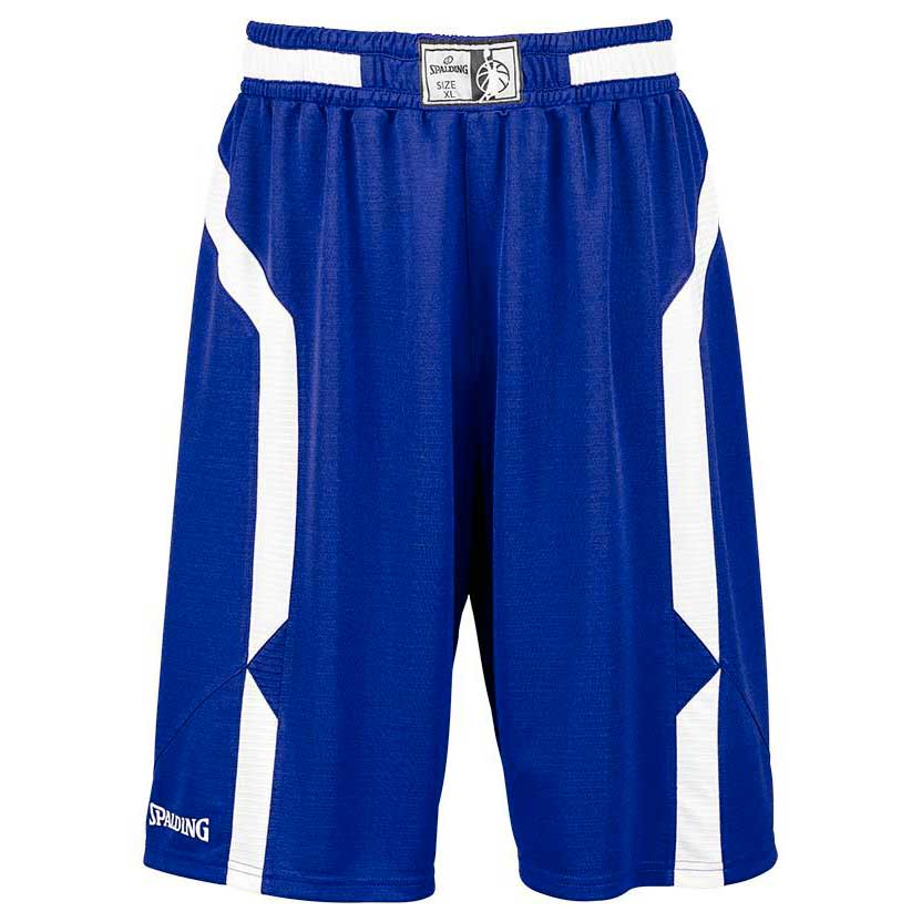 Spalding Offense Shorts S Royal / White