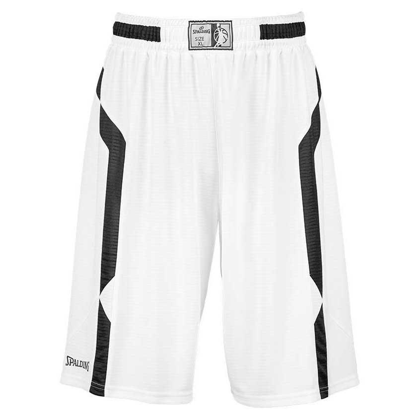 Spalding Offense Shorts S White / Black