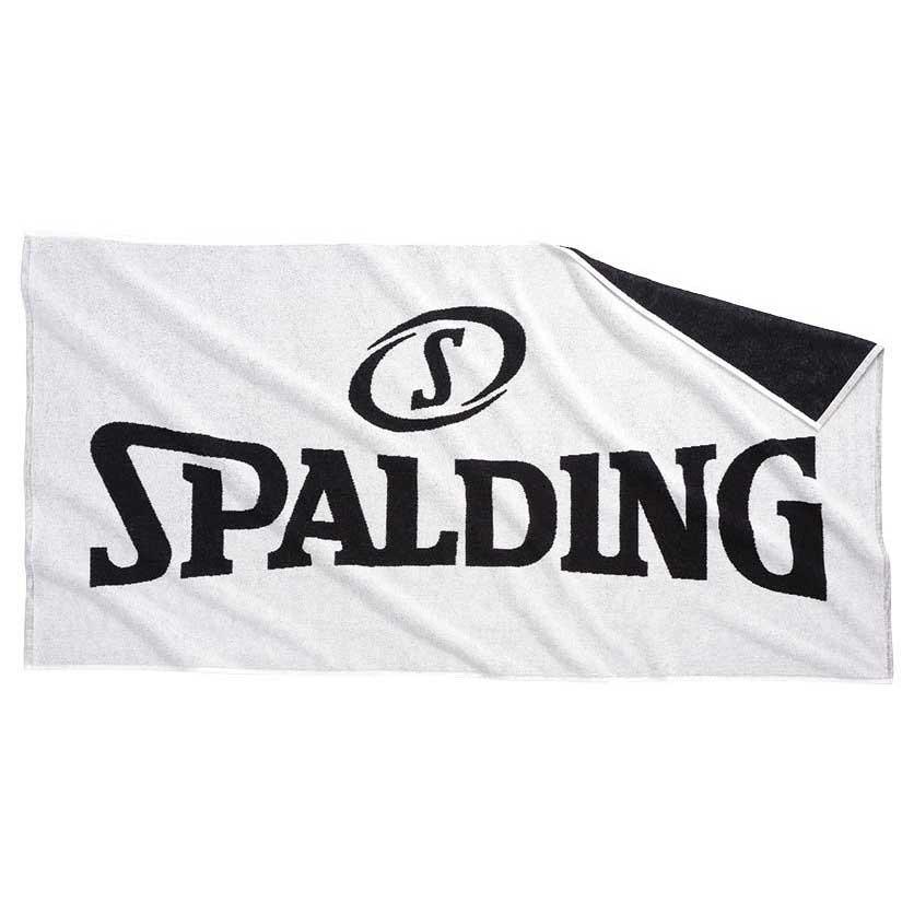 Spalding Logo One Size White / Black