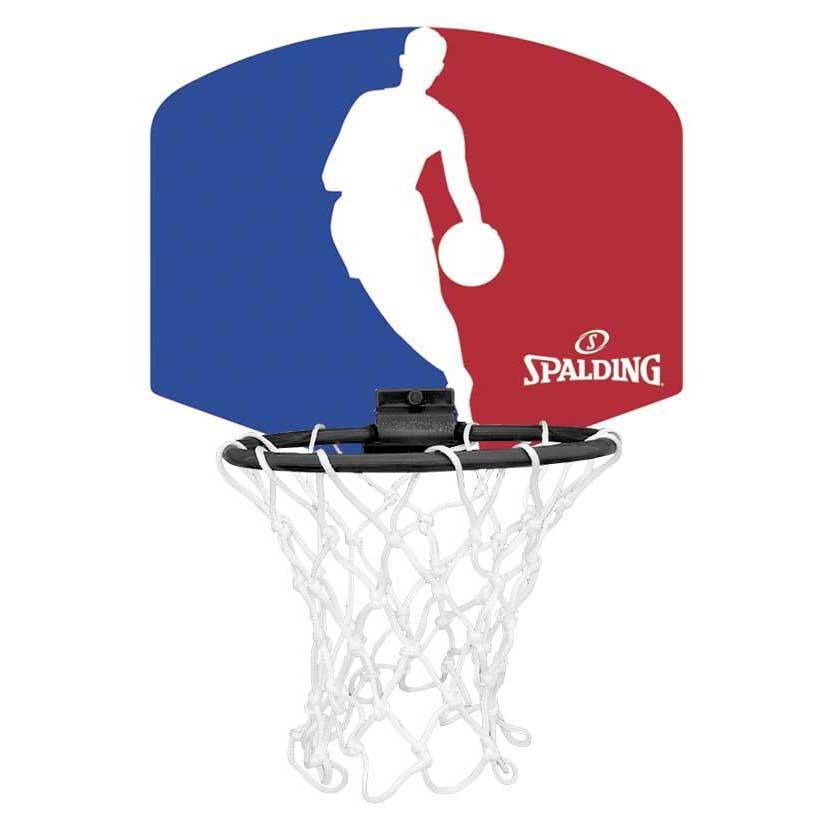 Spalding Mini Panneau Basketball Nba Logoman One Size Blue / Red / White