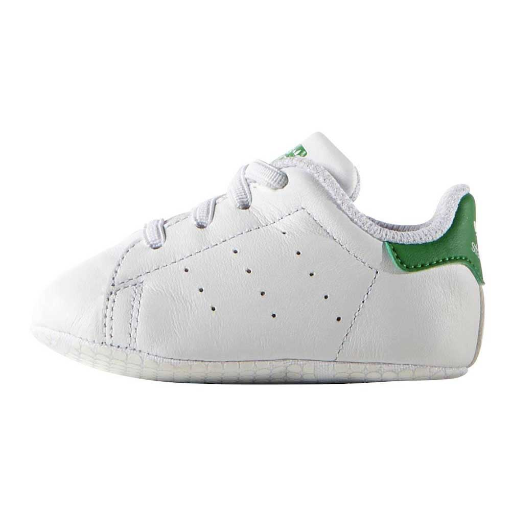 Adidas Originals Stan Smith Crib EU 17 Ftwr white / green