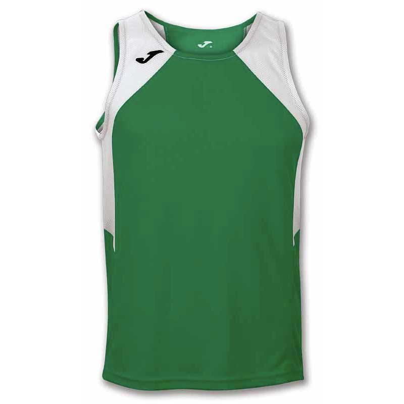 Joma Record Ii Sleeveless XS Green / White
