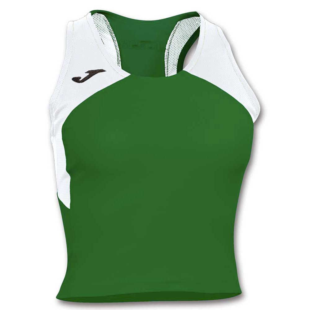 Joma T-shirt Sans Manches Record Ii XS Green / White