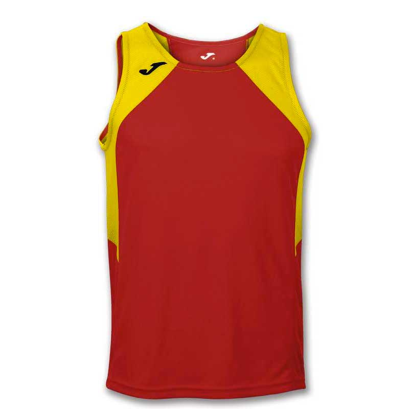 Joma T-shirt Sans Manches Record Ii XS Red