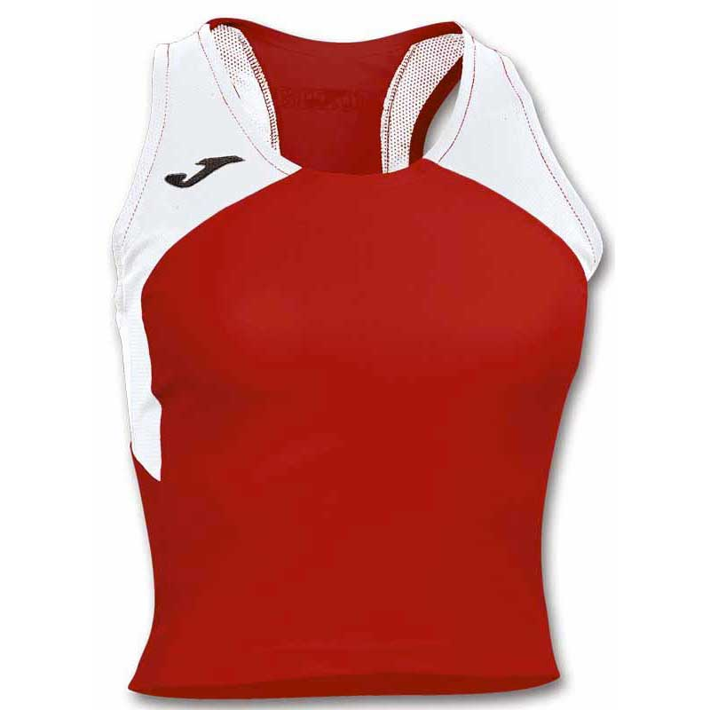 Joma T-shirt Sans Manches Record Ii XS Red / White