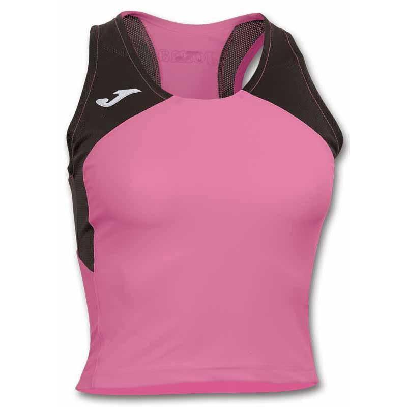Joma T-shirt Sans Manches Record Ii XS Pink / Black