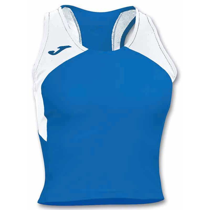 Joma T-shirt Sans Manches Record Ii XL Royal / White
