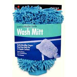 buffalo-microfiber-chenille-wash-mitt-blue-one-size