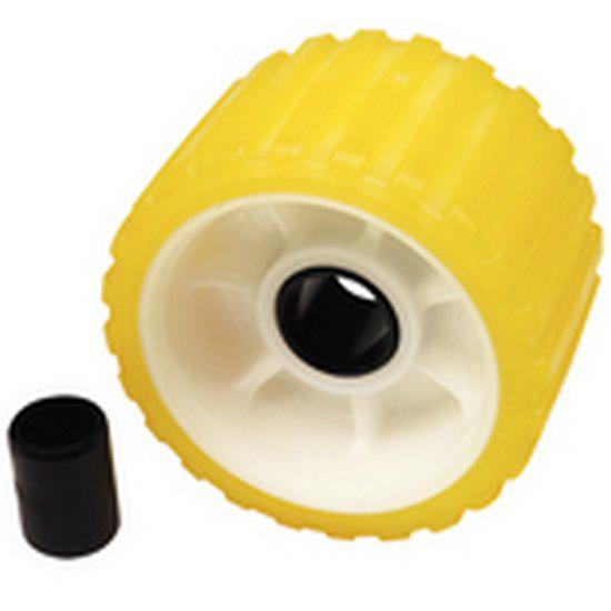 seachoice-ribbed-roller-non-marking-one-size-tp-yellow-rubber