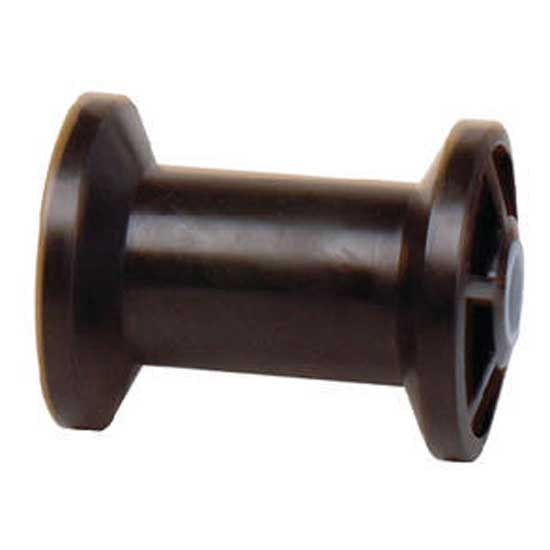 tiedown-engineering-rubber-keel-roller-spool-4-hole-1-2-black